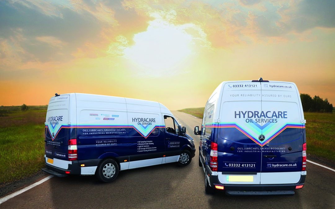 Delivery services across the UK in our new vans!